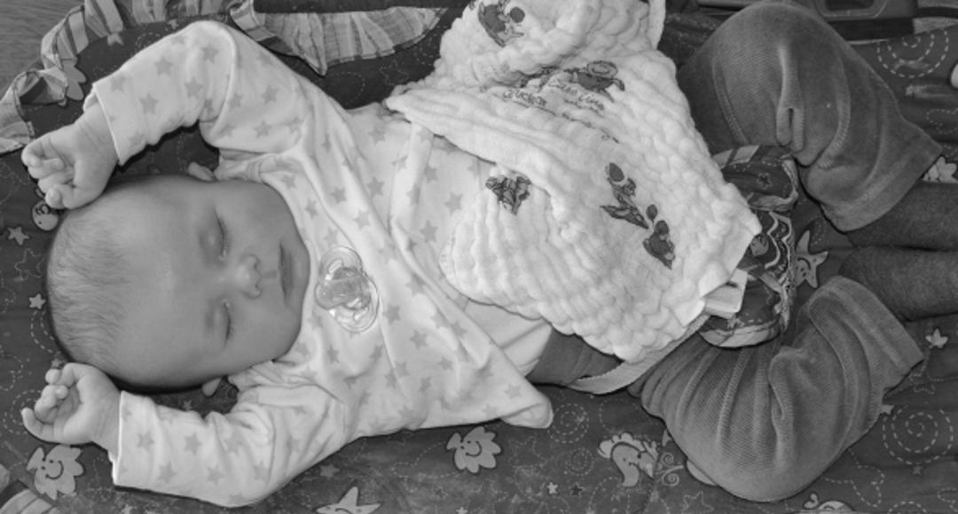 Plan dnia niemowlaka – pierwsza zmiana (4 miesiące).