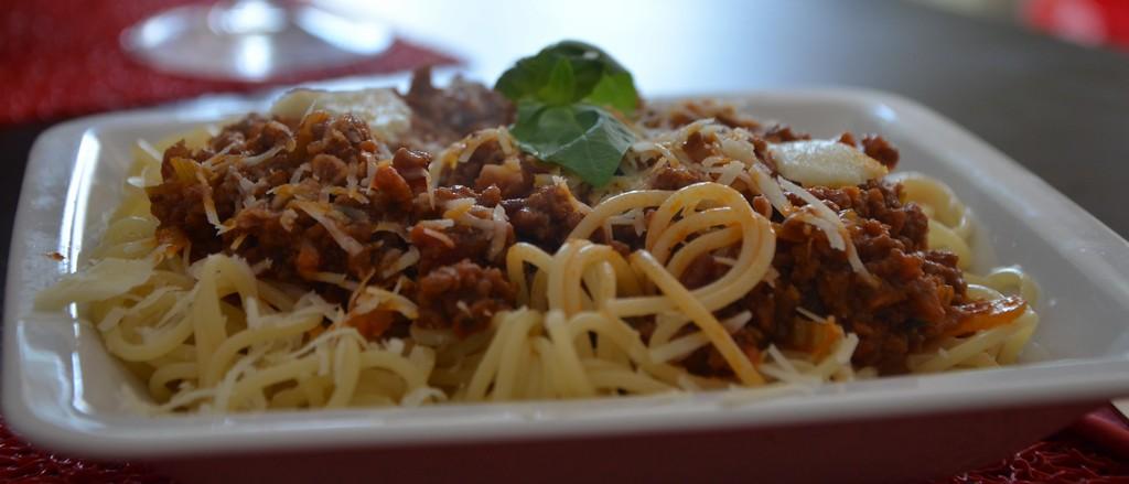 #matkagotuje: Spaghetti bolognese