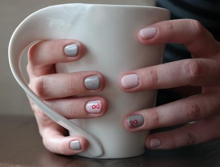 manicure wykonany przez Platinium Beaty :)