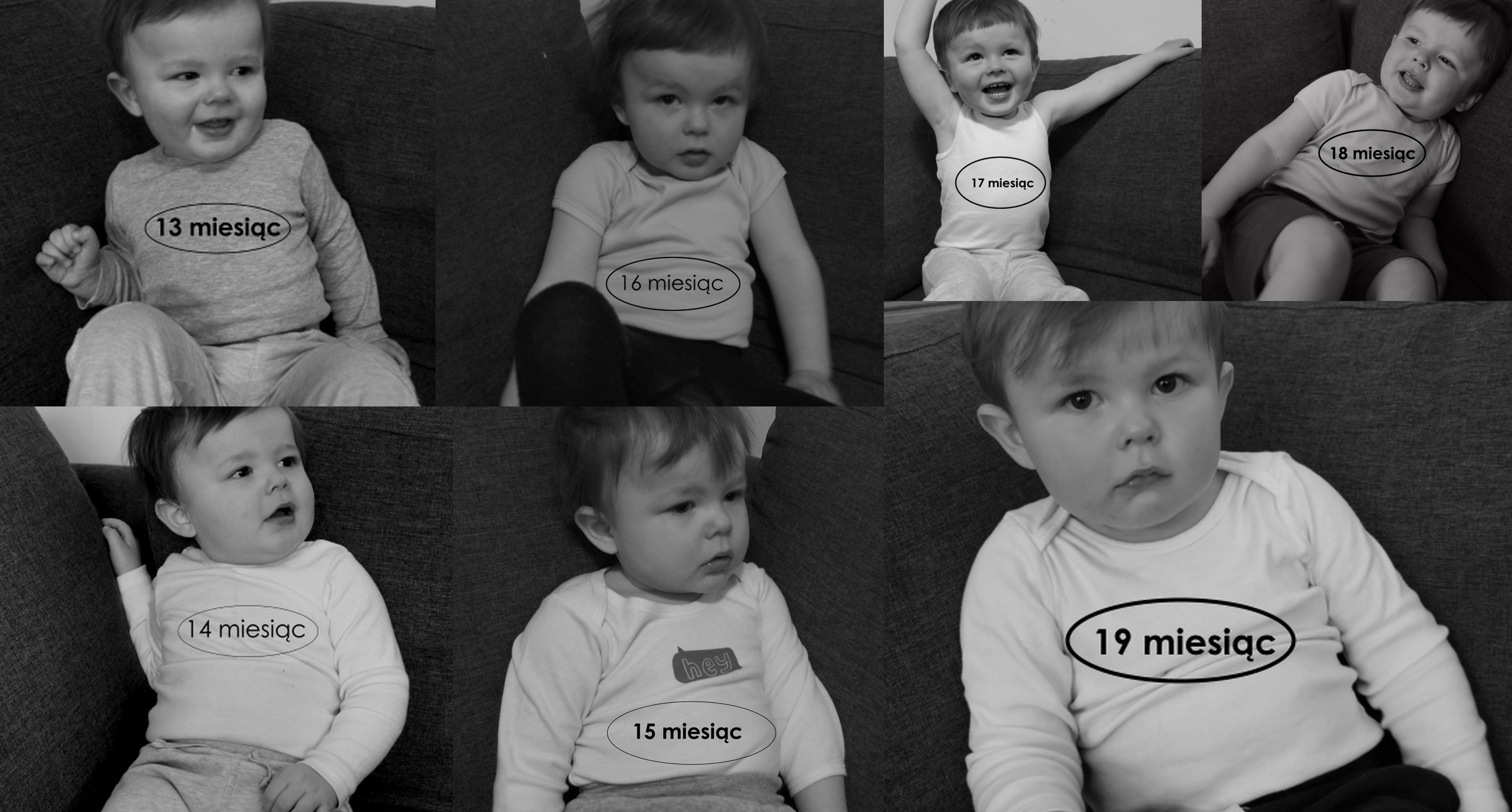 19 miesiąc życia dziecka.