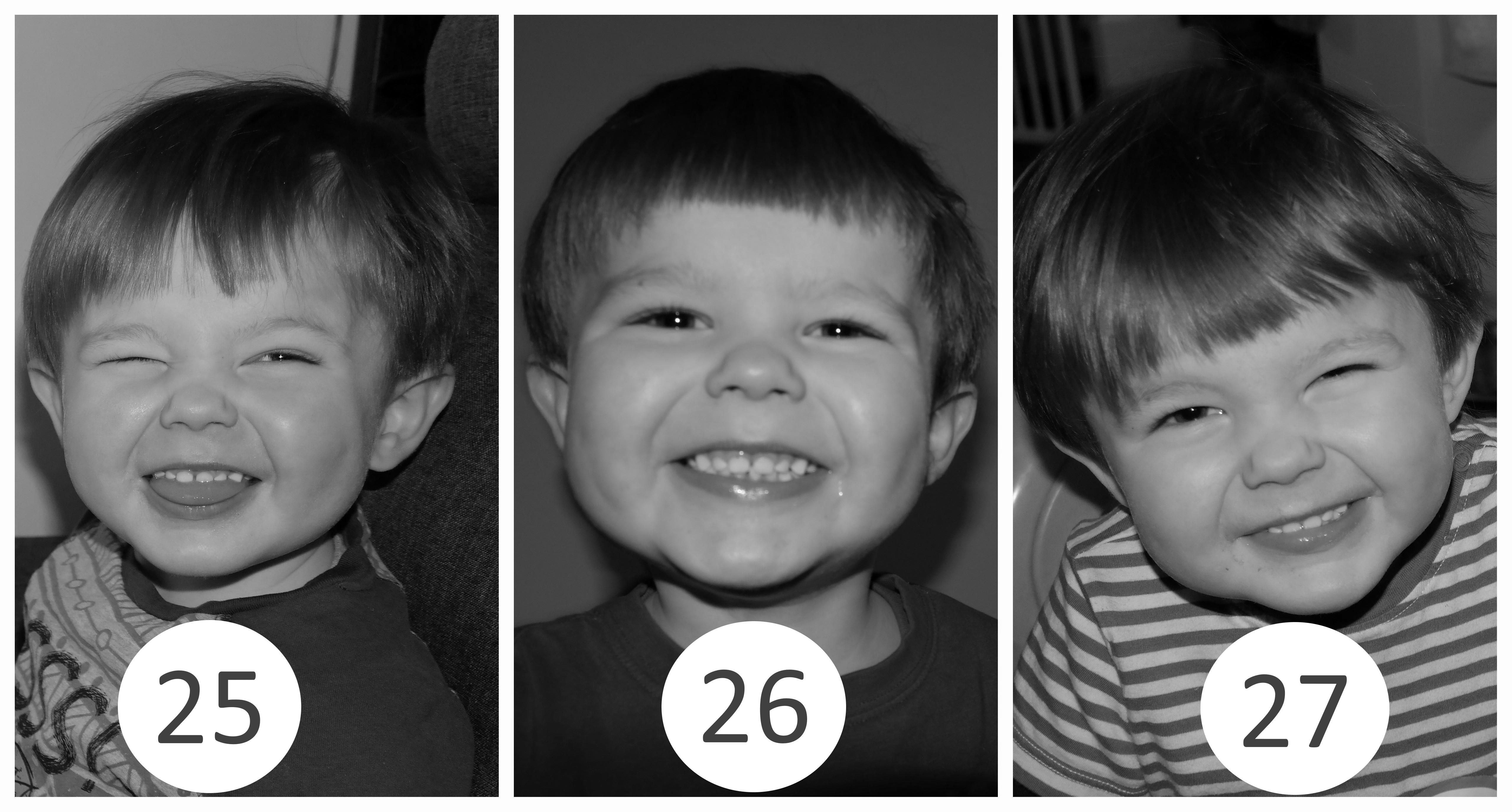 25 – 27 miesiąc życia dziecka.