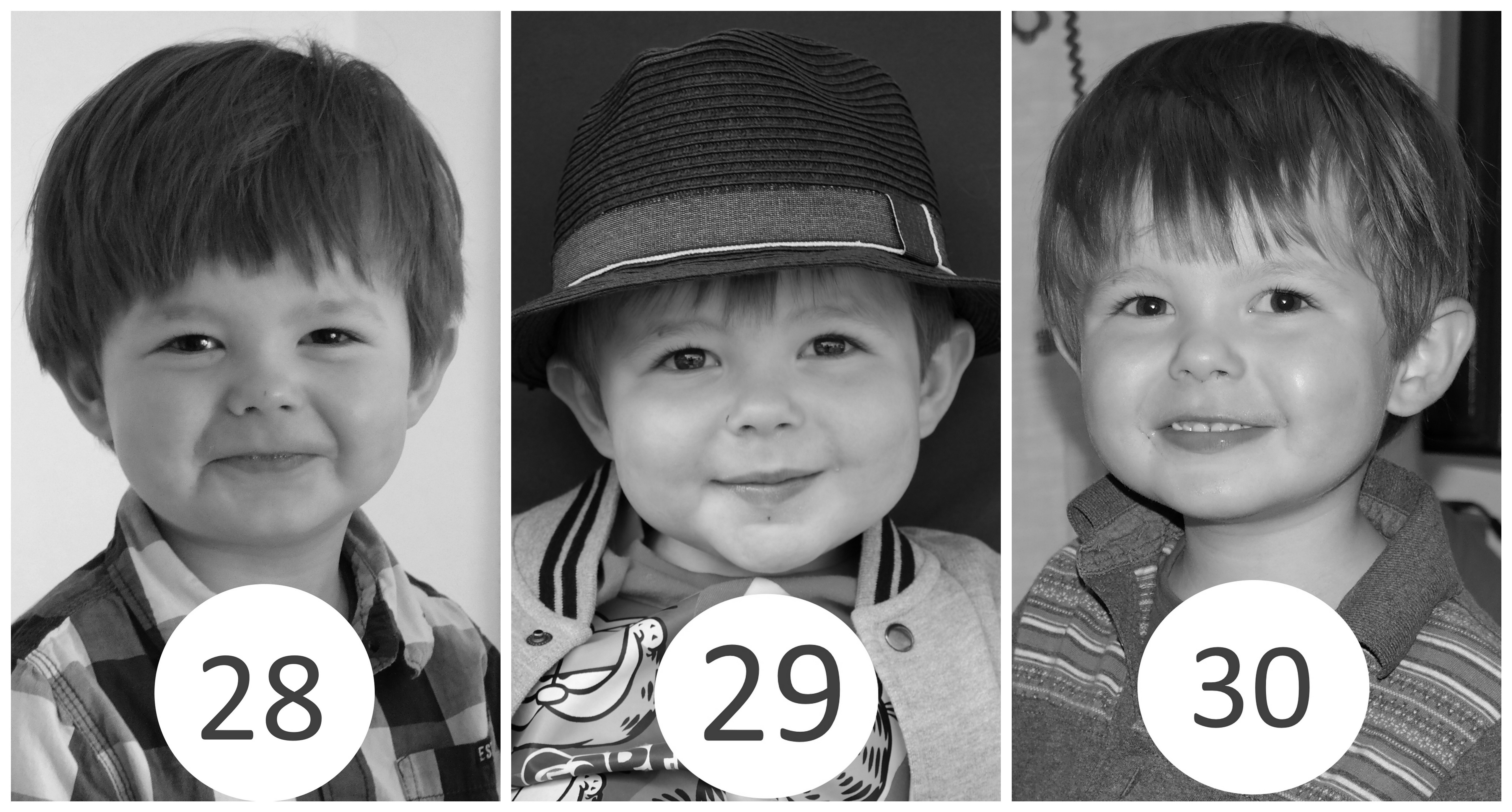 28 – 30 miesiąc życia dziecka.