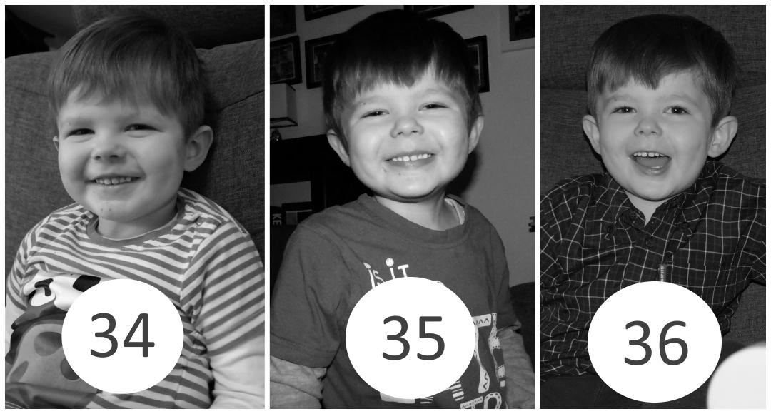 34 – 36 miesiąc życia dziecka.