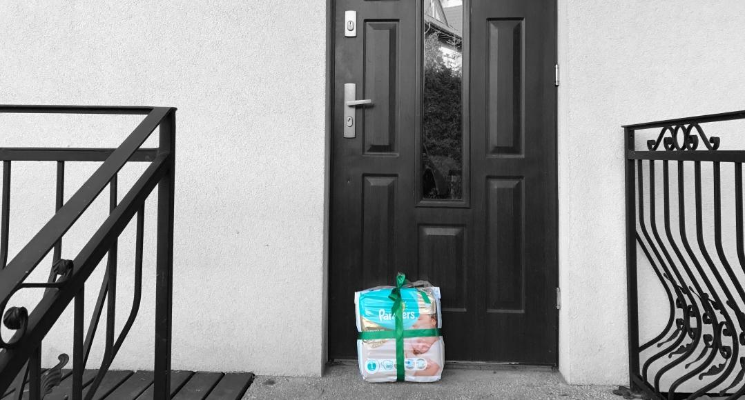 Pieluszki z dostawą do domu! #KONKURS