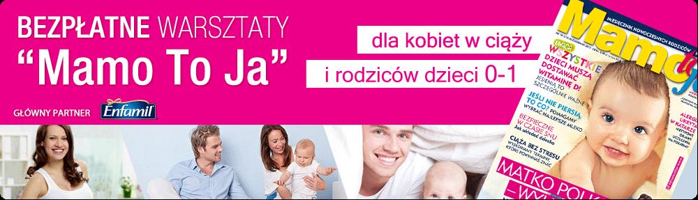 """Warsztaty """"Mamo To Ja"""""""