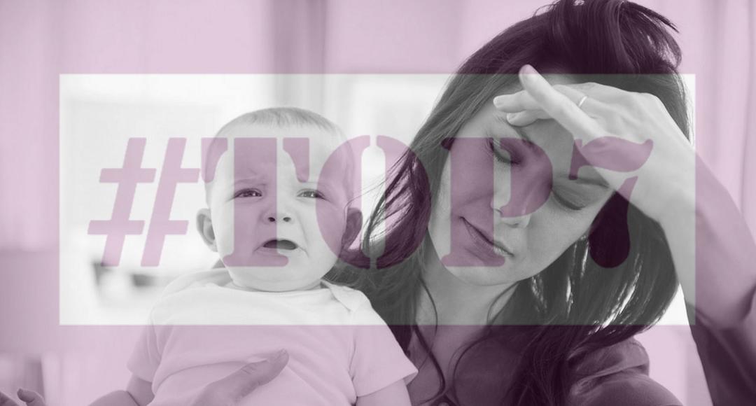 #TOP7: Objawy, że macierzyństwo sięgnęło granic.