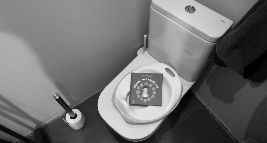 Nauka korzystania z toalety – krok 1.